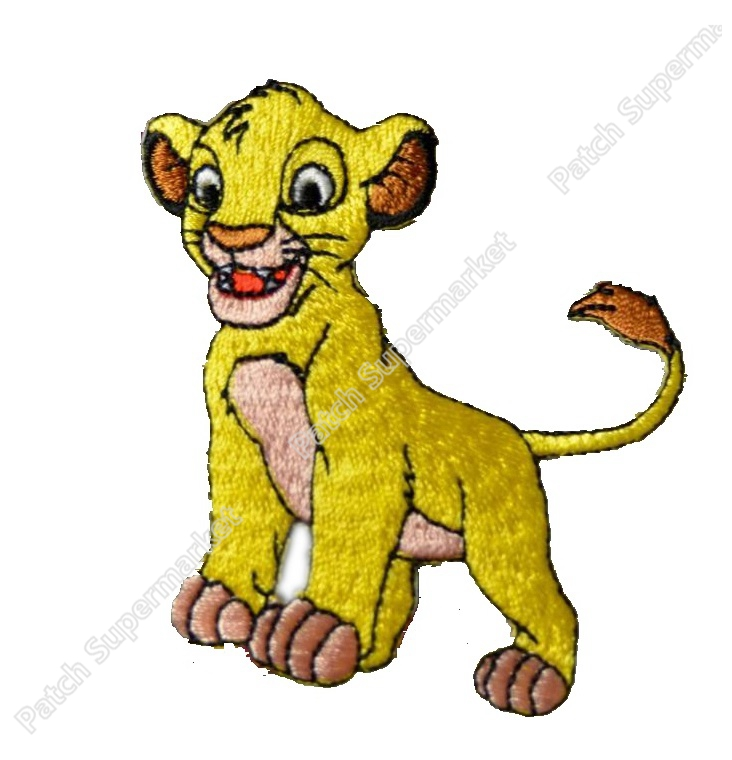 lion king simba patches children costume movie tv series