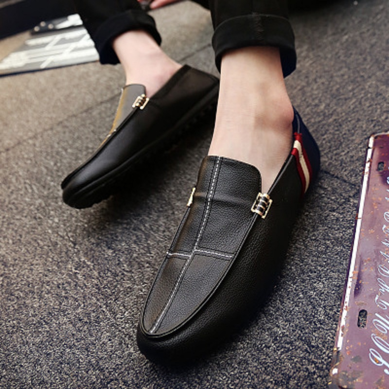 Spring and autumn new youth trend shoes flat comfortable casual men's shoes 43