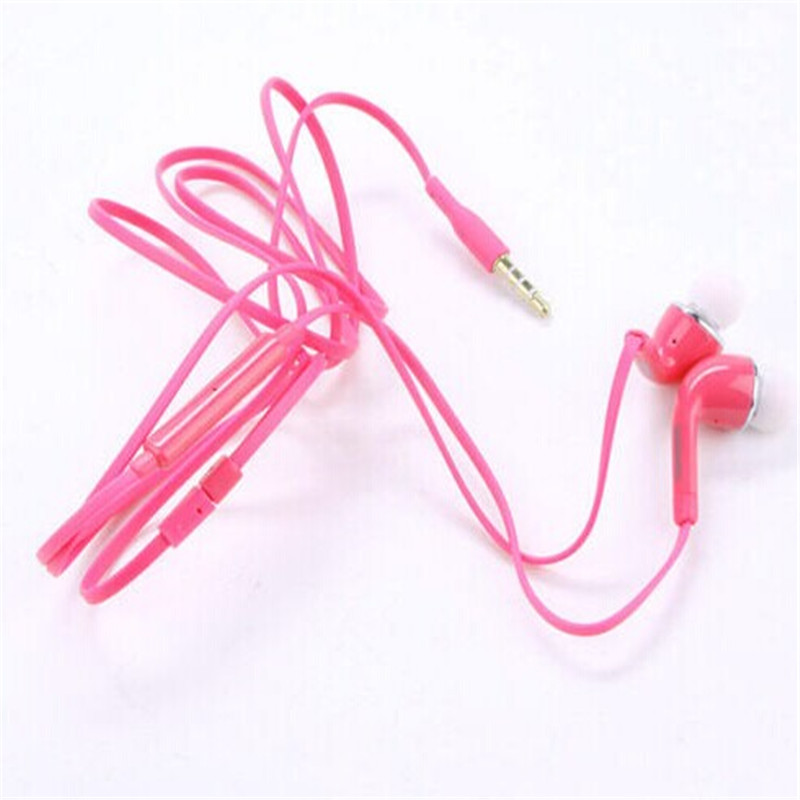 3.5mm Handfree Earphone W/Volume Control For Samsung Galaxy S4 i9500 6 Colors