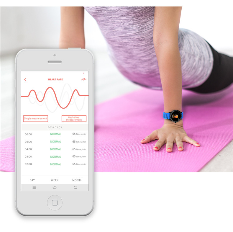 Lerbyee Smart Bracelet T2 Waterproof Blood Pressure Fitness Tracker Watch Call Reminder Sleep Monitor Smart Band for Android IOS 12