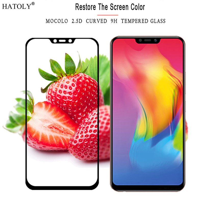 2pcs Screen Protector Glass Vivo Y83 Pro Full Cover Tempered Glass For Vivo Y83 Pro Glass Vivo Y83 Pro Tempered Glass Phone Film