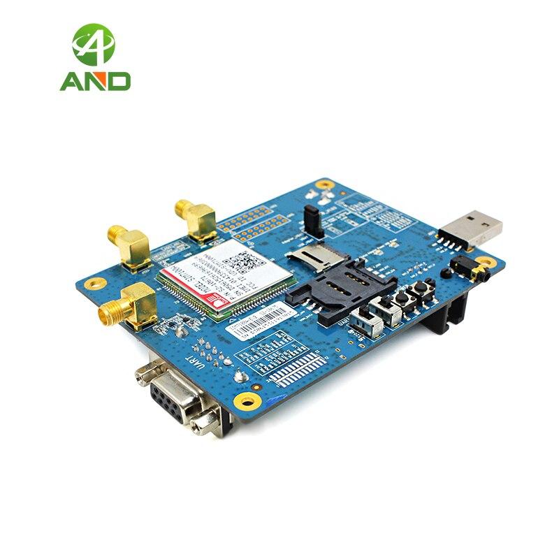 SIM7100A kits 4G Module Multi band LTE WCDMA GNSS HSPA Original SIMCOM UART USB interface