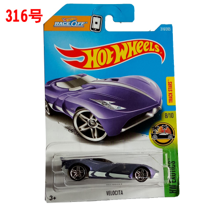 new arrivals 2017 p hot wheels 164 purple velocita diecast car models collection kids
