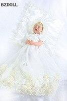 55 см полный средства ухода за кожей силиконовые Спящая кукла реборн кукла для обувь девочек винил новорожденных принцесса кукла подарок на