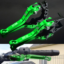 цена на For Kawasaki ZX10R ZX-10R ZX 10R 2004-2015 Aluminum Motorbike Motorcycle Brake Clutch Levers Foldable Extendable Adjustable