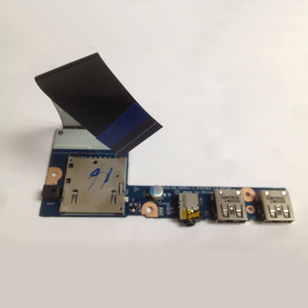 New Original USB Card Reader Board w/Cable For Lenovo S400 S410 S415 Series.P/N 90000663 LS 8953P 455M4338L01-in Computer Cables & Connectors from ...