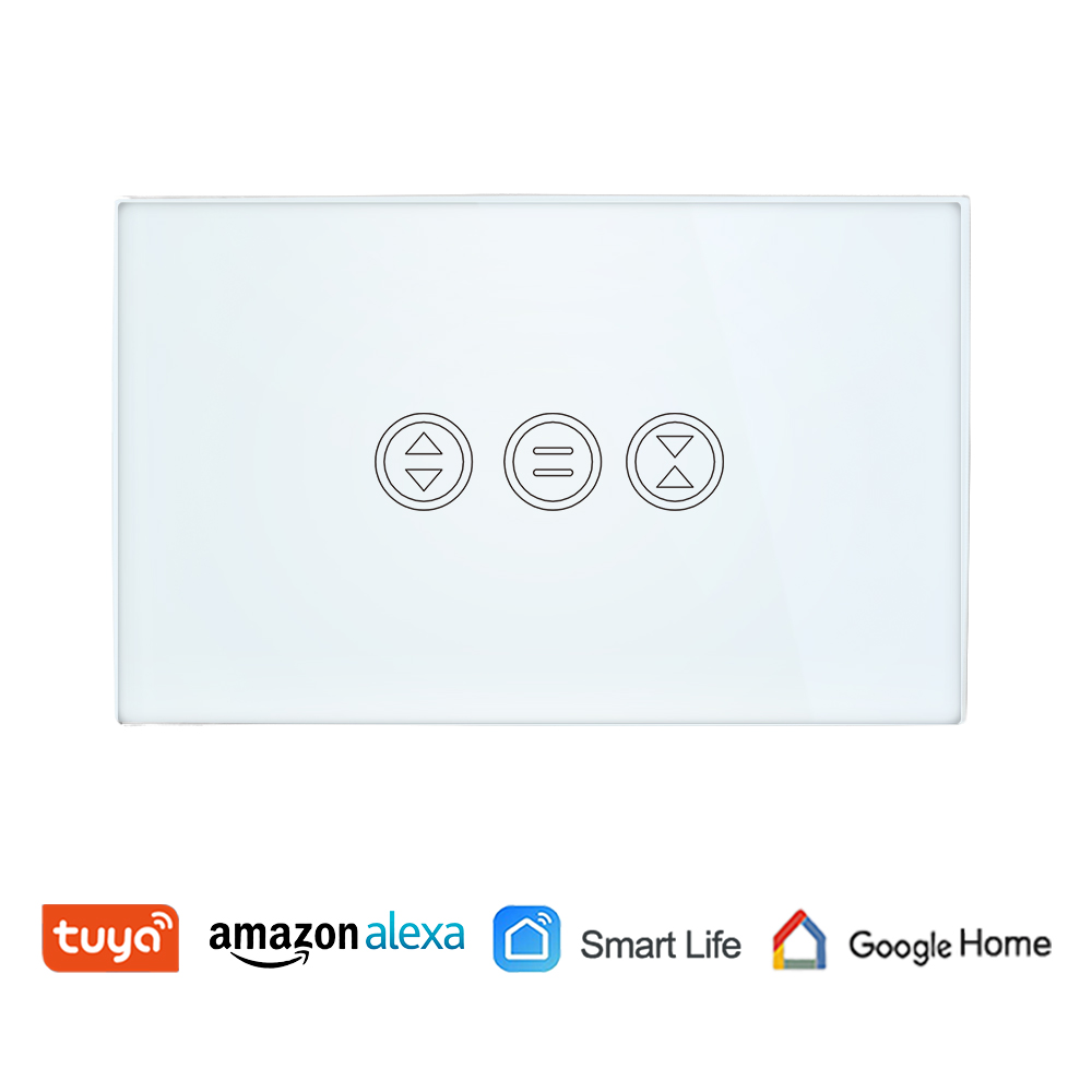 Google Home Tuya Smart Life Wifi Curtain Switch For Electric Motorized Curtain Blind Roller Shutter Amazon Alexa Voice Control