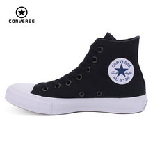 New Converse Chuck Taylor II All Star shoes unisex high sneakers canvas blue black color Skateboarding Shoes 150143C