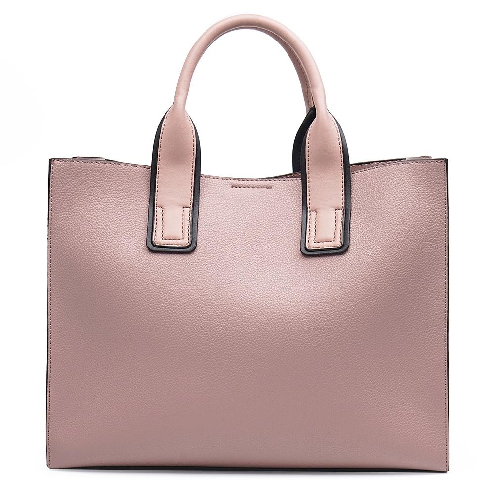 Miyaco marque femmes sac à main fourre-tout sacs pour femmes Messenger sac sacs à main et sacs à main haut en cuir sac à main avec boule de fourrure gland - 3