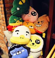 Candice Guo Plush Toy Soft Pillow Cushion South Korea Kakao Friends Hold RYAN Gift Test Fart