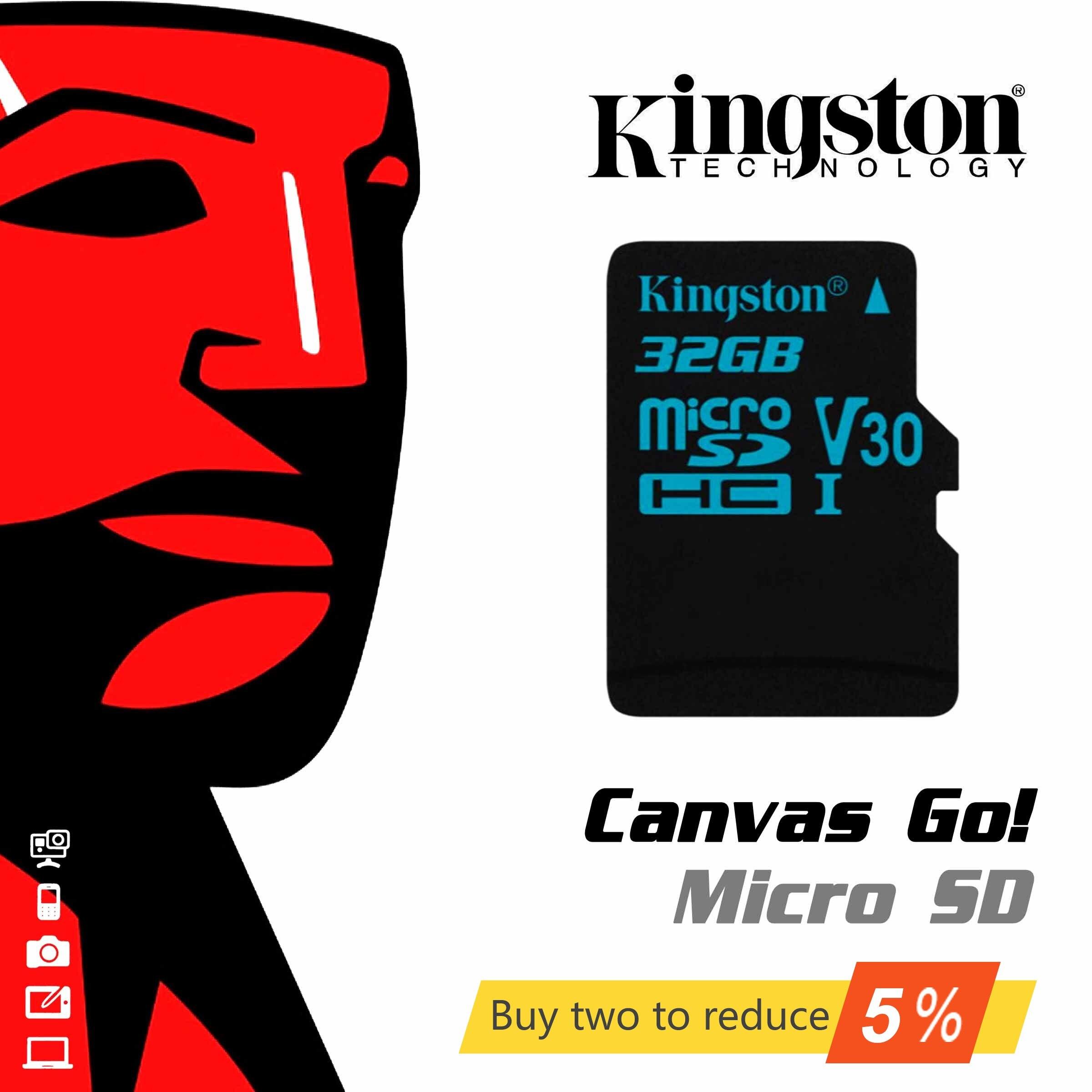 Kingston originais Digital 32 GB 64 GB 10 UHS-I Velocidade Tela Ir Classe microSDHC Cartão de Memória Flash (SDCG2/ 32 GB/64 GB/128 GB)