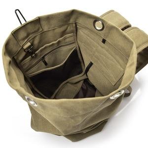 Image 5 - Dung Lượng Lớn Du Lịch Leo Núi Túi Chiến Thuật Quân Sự Ba Lô Nữ Quân Túi Vải Xô Túi Thể Thao, Túi