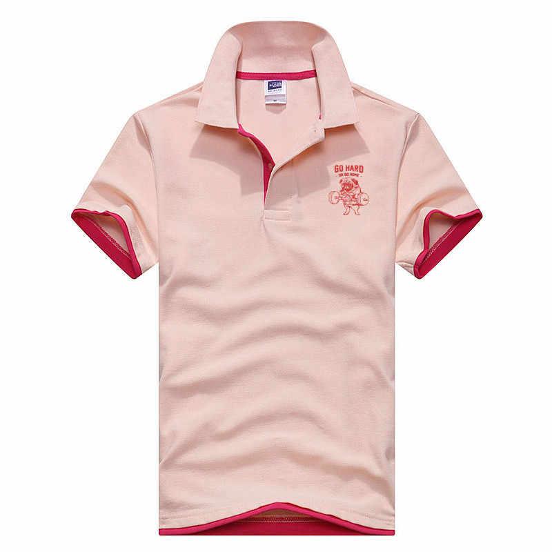 bd913a8f22bb4a6 ... Мопс приземистый движение дизайн рубашки поло с короткими рукавами  Роскошные модные брендовые мужские cultivate one's morality