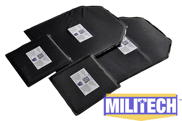 MILITECH 10 x 12 & 6 x 6 Pairs Aramid Ballistic Panel Bullet Proof Plate Inserts Body Armor Soft Armour NIJ Level IIIA 3A bulletproof aramid ballistic panel bullet proof plate inserts body armor soft side armour panel nij level iiia 3a 5 x 8 pair
