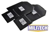 Bulletproof Kevlar Ballistic Panel Bullet Proof Plate Inserts Body Armor Soft Armour NIJ Level IIIA 3A