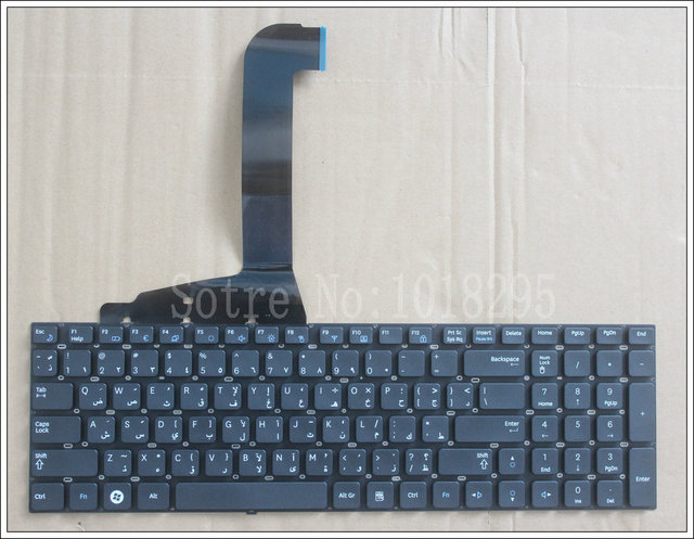 NEW Farsi  Laptop Keyboard For Samsung RF712 RF710 RF711 RF730 Black Arabic   without backlight