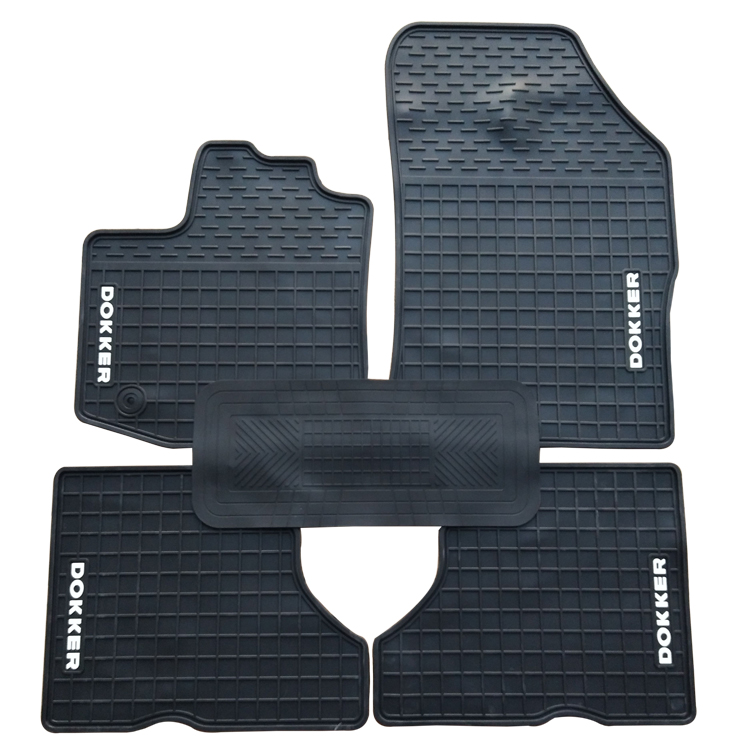 Special rubber car floor mats for Renault Stepway Dokker Kangoo EVO Captur Duster durable waterproof latex carpets for Renault special rubber latex green car trunk mats case for benz smart desinged for original car model