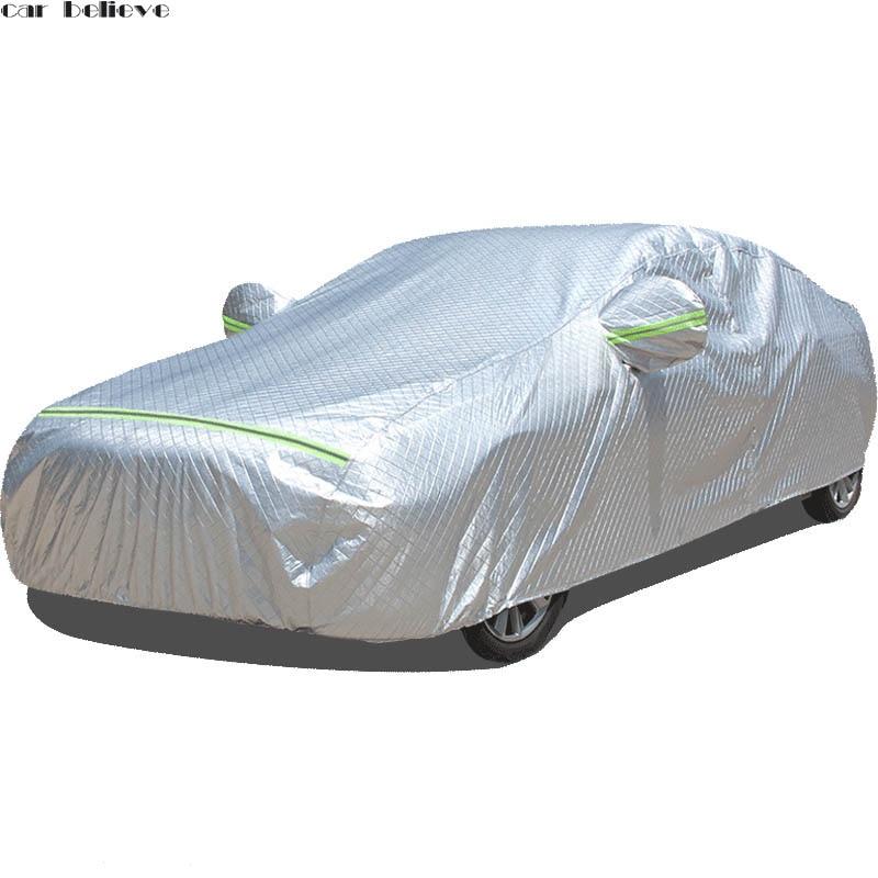 Bâches de voiture imperméable parapluie pare-soleil funda coche pour audi a3 berline subaru impreza ford fiesta polo voiture rideau rétractable