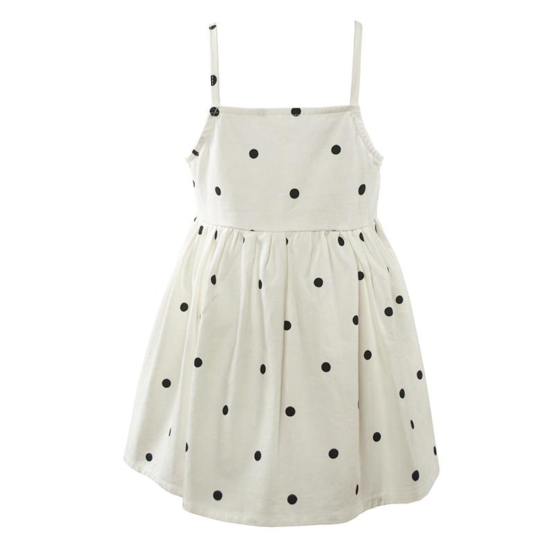 Cielarko sommerpiger kjole stropløs baby festkjoler fancy polka dot - Børnetøj - Foto 2