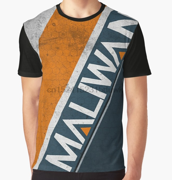 All Over Print T-Shirt Men Funy Tshirt Maliwan 3 Borderlands Short Sleeve O-Neck Graphic Tops Tee Women T Shirt