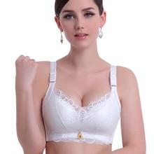 Sexy Push Up bra Minimizer Lace Busty Bra For Women Full wireless Women's Lace Bra gather breast lovely bra 32 34 36 38 A B cup