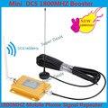 Display LCD Mini 2G 4G LTE GSM DCS 1800 Mhz Mobile Phone Signal Booster, Repetidor de Sinal DCS, Telefone celular Amplificador & Otário Antena