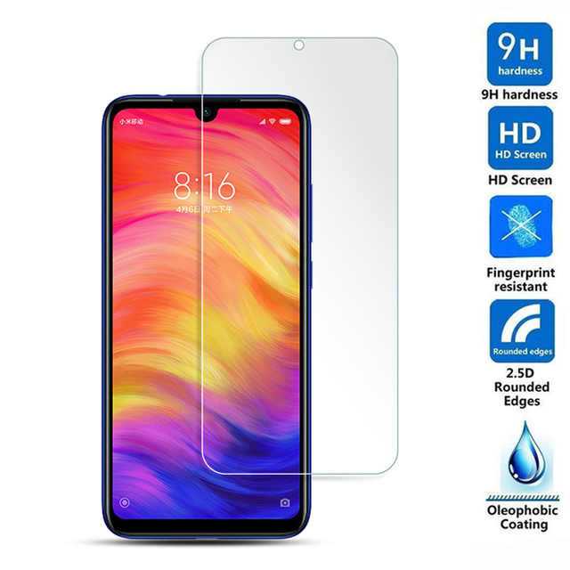 """Pieno di Colla Per Xiaomi Redmi Nota 7 6 pro 5 pro In Vetro Temperato di Protezione Pellicola a prova di Esplosione Della Protezione Dello Schermo redmi Nota 7 6.3"""""""