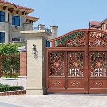 Дома алюминиевые ворота дизайн/стали раздвижные ворота/Алюминий забор, ворота конструкции hc-ag3