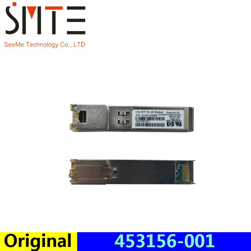 Original 453156-001 SP7041-ISS 1Gb SFP RJ-45  fiber optical transceiverOriginal 453156-001 SP7041-ISS 1Gb SFP RJ-45  fiber optical transceiver