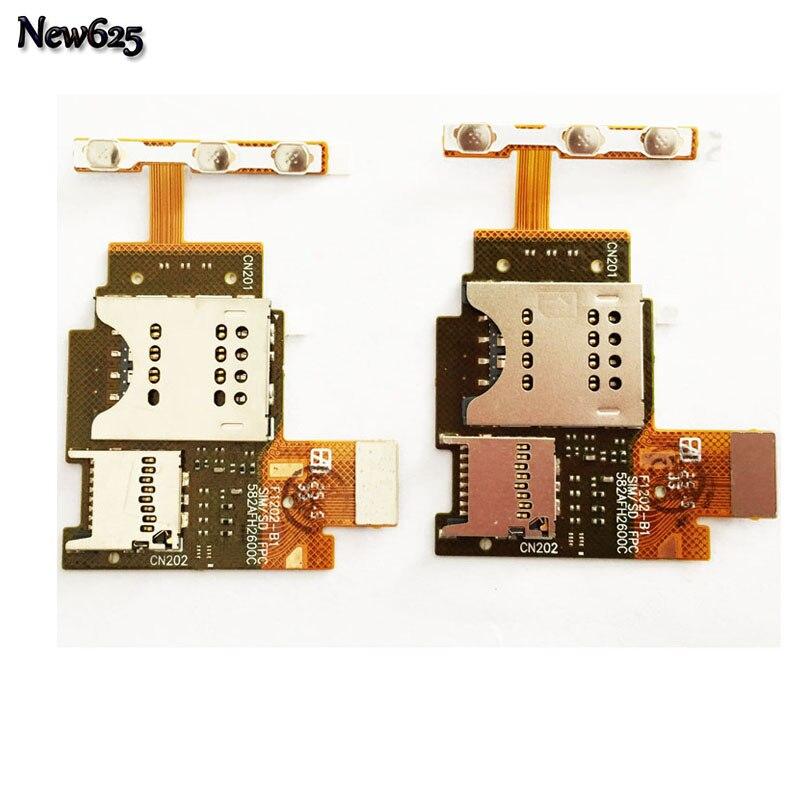 Новый для Sony Xperia J ST26 ST26i SIM Card Reader держатель лотка Слот <font><b>Flex</b></font> ленточный кабель мобильного телефона