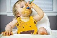 New TAF TOYS Baby Bibs Waterproof Silicone Feeding Infant Saliva Towel Newborn Cartoon Aprons Baby Food-grade Silicone Bibs