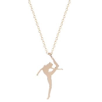 10Pcs Gold Silver Bling Dance Girl Necklaces necklace