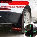 Стайлинга автомобилей Спорт брызговик крыло брызговиков Крышка для Mercedes Benz W211 W203 W204 W210 W205 W212 W220 AMG GLC Jaguar XE XF XJ