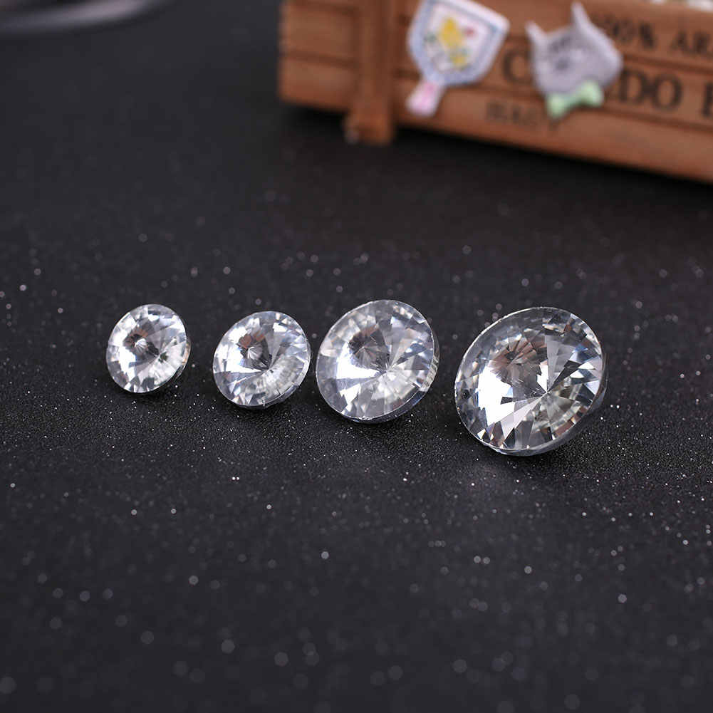 Satellite Drill Rhinestones Crystal Buttons Furniture Decoration scrapbooking button botones buttons for clothing knopen