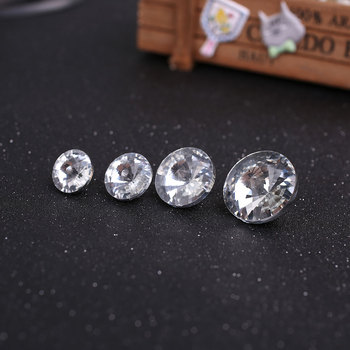 Satellite Drill Rhinestones Crystal Buttons Furniture Decoration scrapbooking button botones buttons for clothing knopen image
