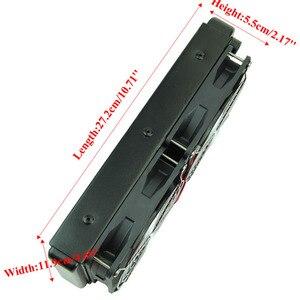 Image 5 - G1/4 240mm 2 fan radyatör bilgisayar masaüstü su soğutma alüminyumu kalın 60mm Drop Shipping