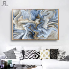Minimalist Colors Tint Wave Pattern Unframed Canvas Poster Wall Painting Unframed Wall Art Print For Living Room Home Decor minimalist fresh unframed paintings little girls back canvas posters wall painting art print for home bedroom decoration