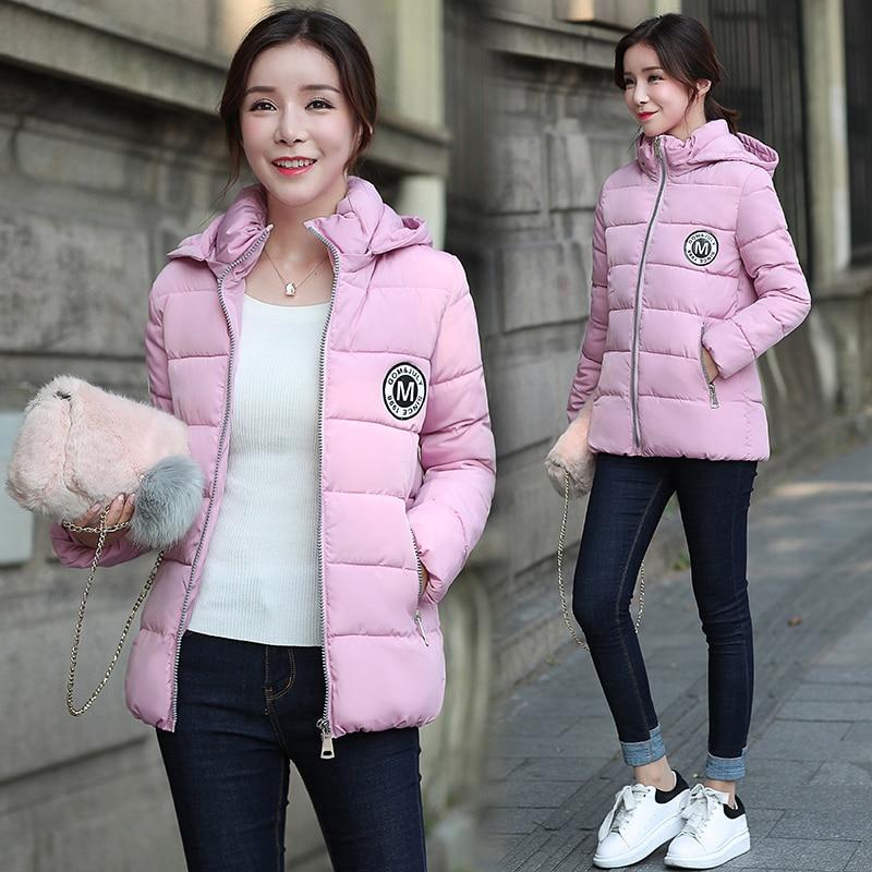 Court Veste Nouvelle grey Lm2009 Coton Vêtements Version Mode Femmes Manteau De Capuchon Pink Six black Paragraphe 2017 À Mince Green army red Hiver Sens TqtwnRvYZ