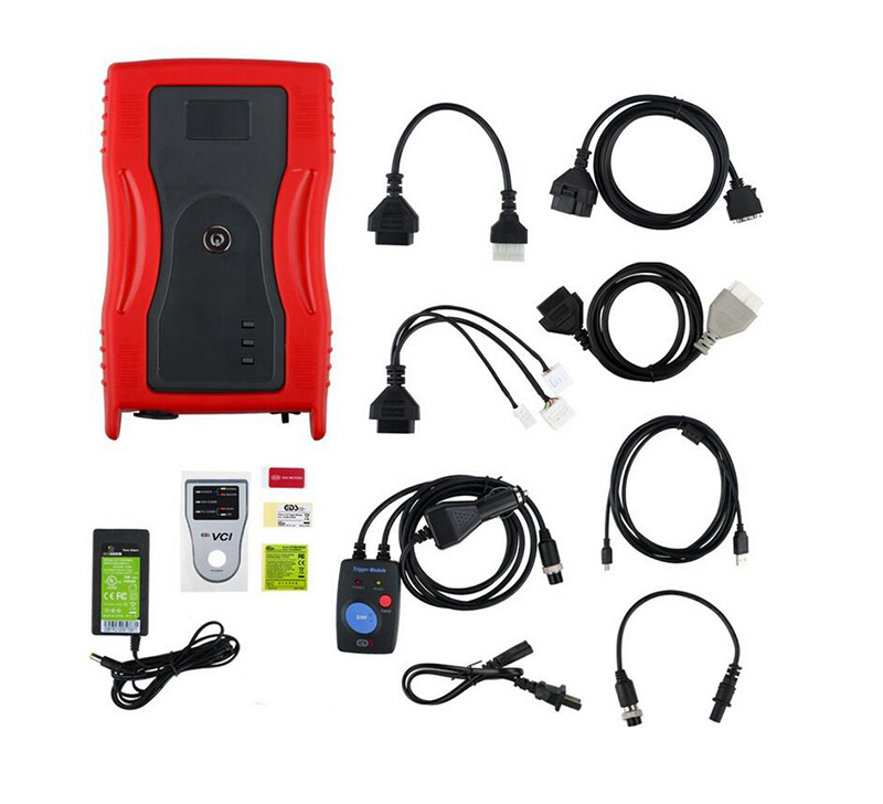 GDS VCI Diagnostic Tool for Kia & Hyundai (RED) with Tigger Module