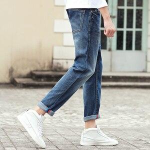 Image 3 - Pioneer Camp Jeans männer marke kleidung hohe qualität Schlanke männlichen Casual Hosen Qualität Baumwolle Denim hosen Für Männer 655122