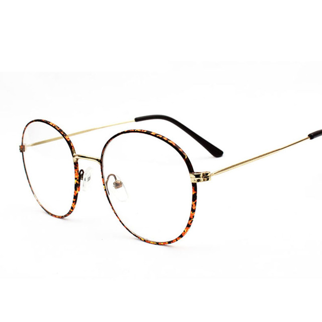 New Fashion Korean Retro Bendable Eyeglasses Frame Women/Female ...