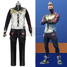 Battle Royale сезон 5 Drift Skins Black Fox Косплей Костюм Хэллоуин униформа наряд на заказ любой размер