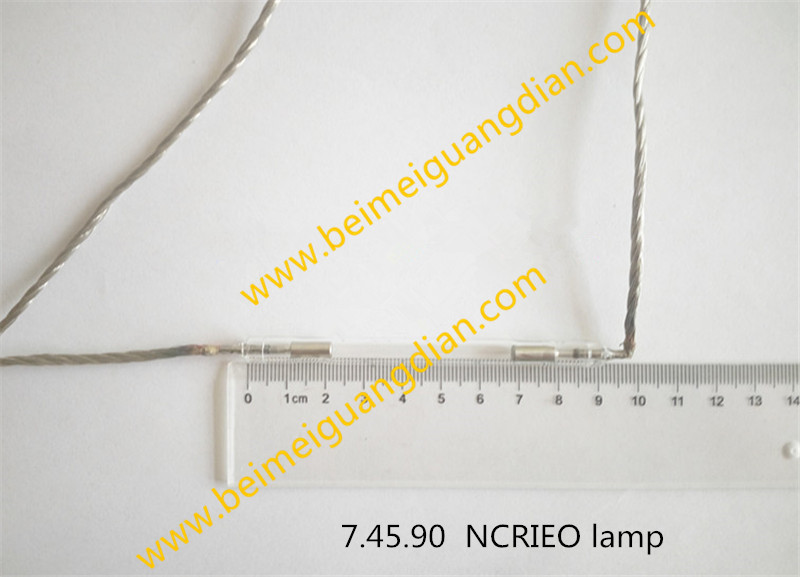 7*45*90mm  hot sale lamps high quality e light ipl laser flash xenon lamp for sale with factory price one piece price hot sales laser ipl xenon flash lamp 6 50 85mm