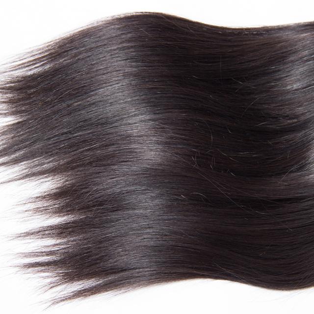 Straight Natural Black Malaysian Virgin Hair