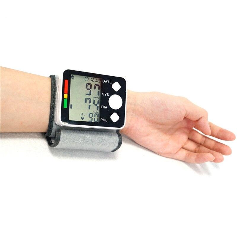 Medidor de Lcd-scherm Pols Bloeddrukmeter Apparaat Hart Hartslag