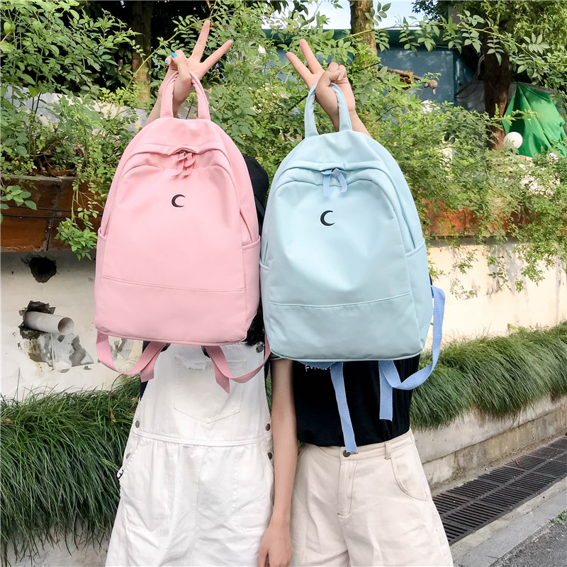 Backpacks Luggage & Bags Harajuku Street Fashion School Bag Pack Women Japanese Korean Style Casual Student Backpack Girls Boys Gray Black Pink Knapsack