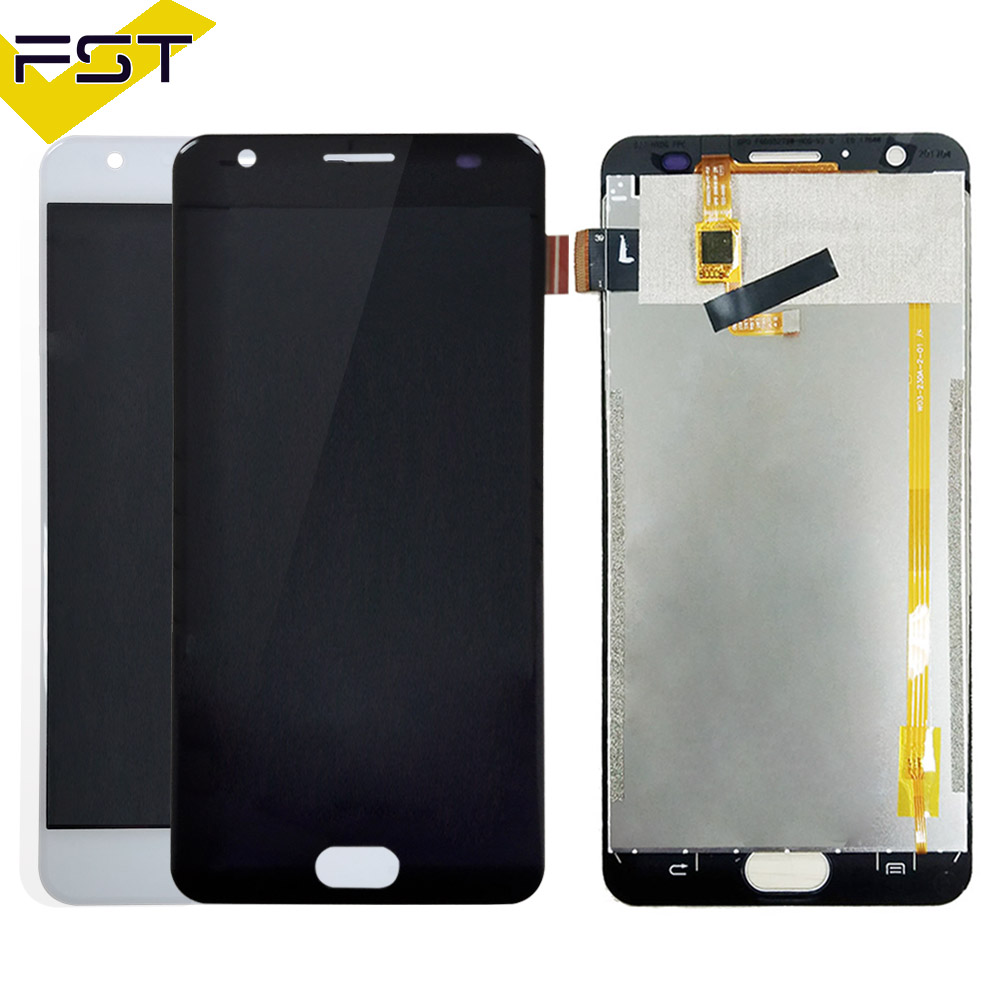 Black/White Tested Well For Oukitel K6000 Plus LCD Display and Touch Screen Digitizer Assembly Free Shipment+Tools