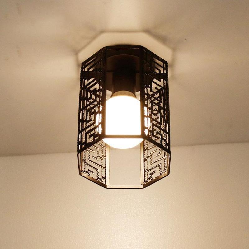 Morden Black LED Ceiling Lights Nordic Minimalism Ceiling