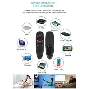 Image 5 - AMKLE G10 voix télécommande 2.4G sans fil Gyroscope Air mouche souris micro IR apprentissage pour Android tv box T9 H96 MECOOL XIAOMI