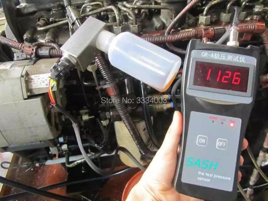 CR-A diesel engine common rail pressure testerr and Simulator for Bosch/Delphi/Denso Sensor Test Tool cr508 diesel common rail pressure tester and simulator for bosch delphi denso sensor test tool diagnostic tools high pressure